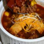Slow Cooker Taco Soup Day 2 #12DaysOf
