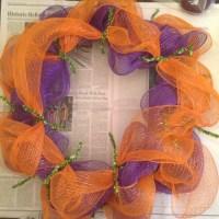 Deco Mesh Halloween Wreath Tutorial! | Just Plum Crazy