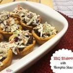 BBQ Sliders with Memphis Slaw Recipe