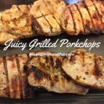 Grilled Pork Chops Marinade Recipe Day 9 #12DaysOf