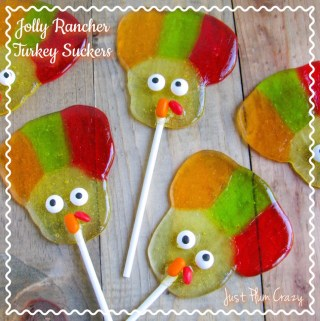 Easy Jolly Rancher Turkey Suckers Recipe