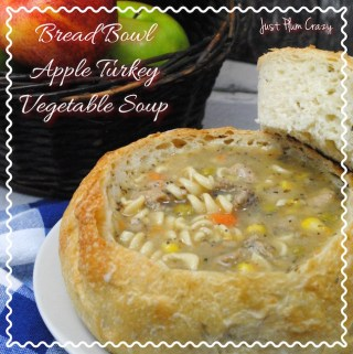 Bread Bowl Crock Pot Apple Turkey Vegetable Soup Recipe