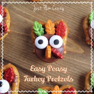 Easy Peasy Turkey Pretzels Recipe