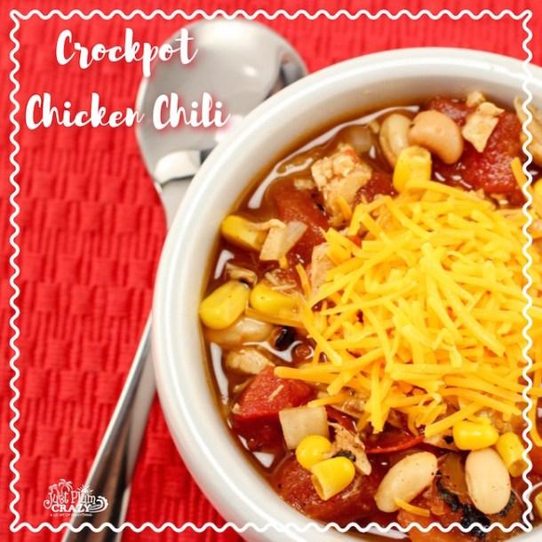 Crockpot Chicken Chili Recipe