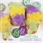 Mardi Gras Crescent Roll Recipe