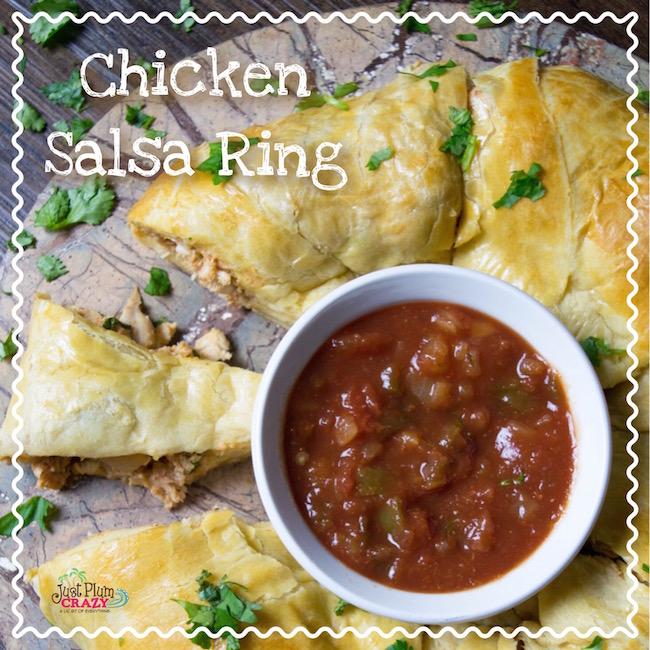 Chicken Salsa Ring Recipe