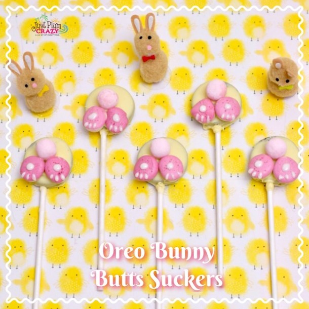 With Easter just a couple of weeks away, it's never too early to start planning. Our Oreo Bunny Butts Suckers recipe is perfect for any family get together.