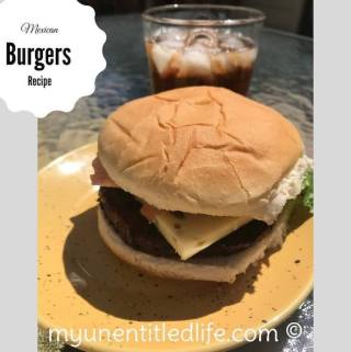 Grilled Mexican Burger Recipe Day 11 #12DaysOf