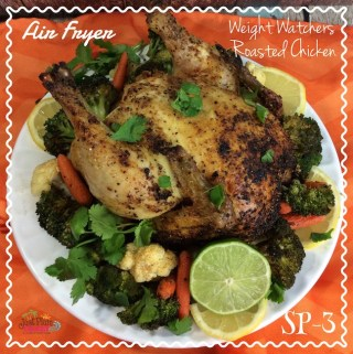 Air Fryer Weight Watchers Roasted Chicken Recipe – Smart Points 3