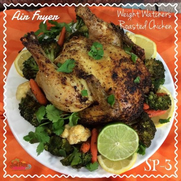 Air Fryer Weight Watchers Roasted Chicken – Smart Points 3