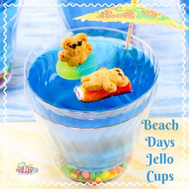 Fun Beach Days Jello Cups Recipe