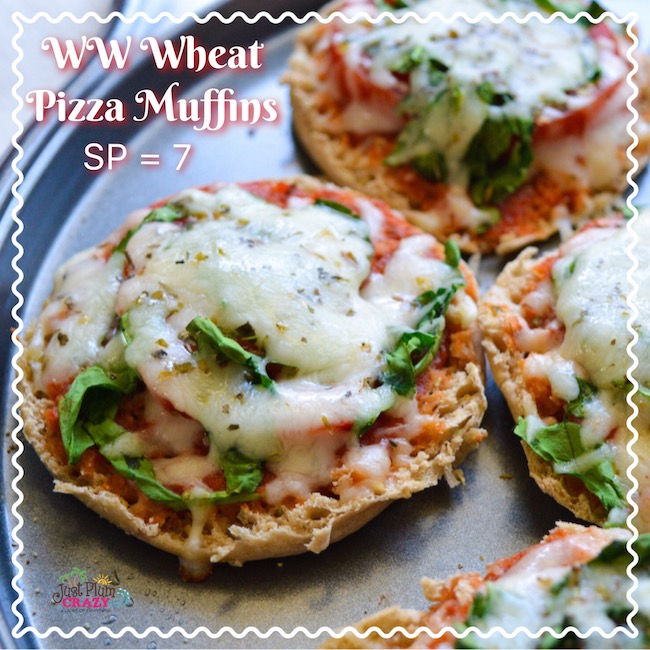 The Weight Watchers Wheat Pizza Muffins recipe saves on calories but satisfies my pizza cravings and is a family favorite too!