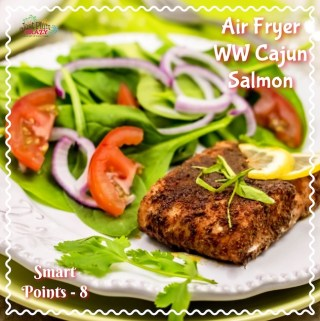 Air Fryer WW Cajun Salmon Recipe Smart Points – 8