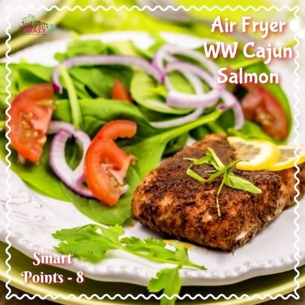 Air Fryer WW Cajun Salmon Recipe Smart Points – 8