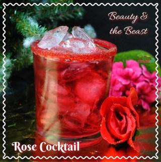 Beauty and The Beast Rose Cocktail Recipe #BeOurGuest