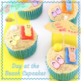 Day at the Beach Cupcakes Recipe