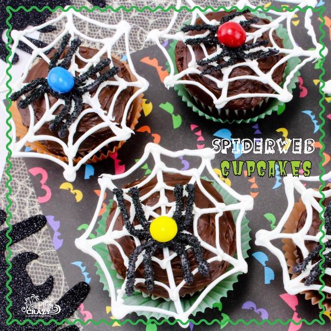 Spider Web Cupcakes Recipe