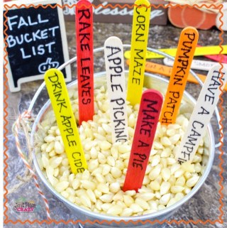 Fall Bucket List Craft