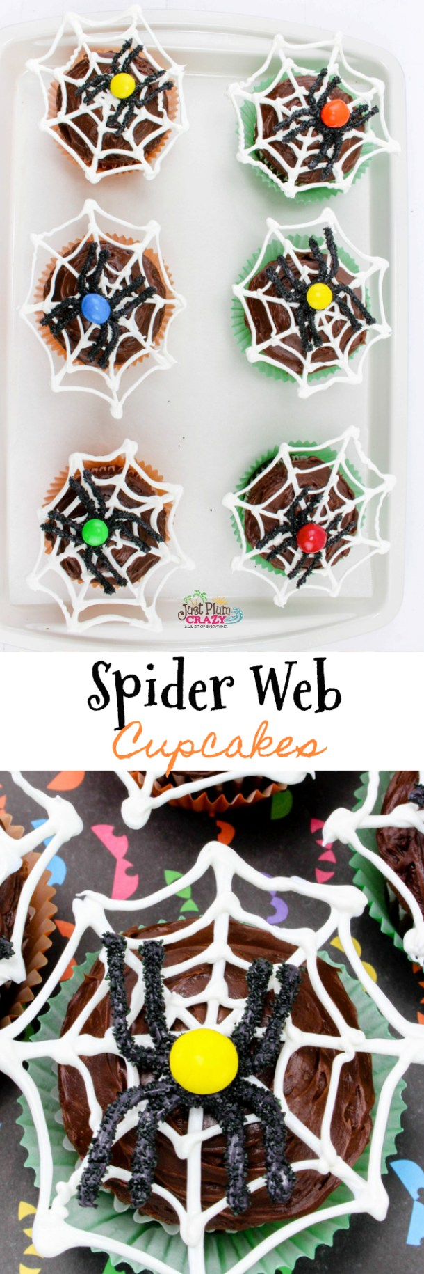 The Spider Web Cupcakes recipe is cute even if you don't like spiders. Here are a few tips to decorate your house for the festivities.