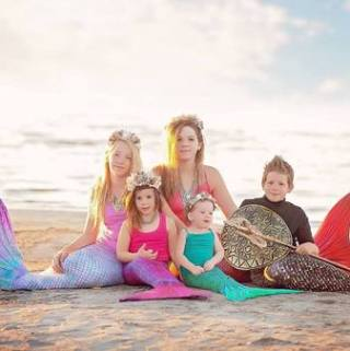 Make a Splash with Sun Tail Mermaid Tails and Shark Fins