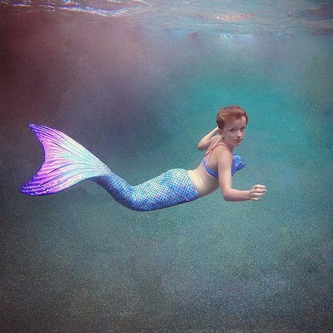 Who hasn't dreamed of being Ariel when they were little? Now with the Sun Tail Mermaid Tails, you can become that much closer to being a mermaid.