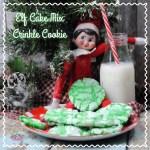 Elf Cake Mix Crinkle Cookie Recipe