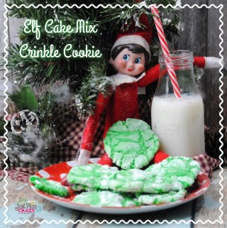 Elf Cake Mix Crinkle Cookie Recipe