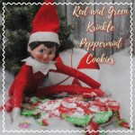 Elf Red and Green Peppermint Cookie Recipe