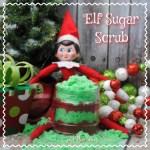 Elf on the Shelf Sugar Scrub DIY