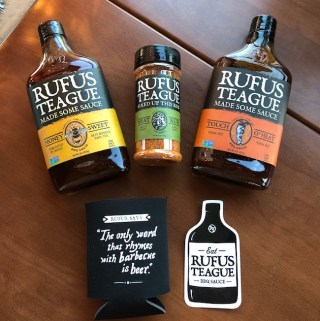 Rufus Teague BBQ Sauces and Rubs