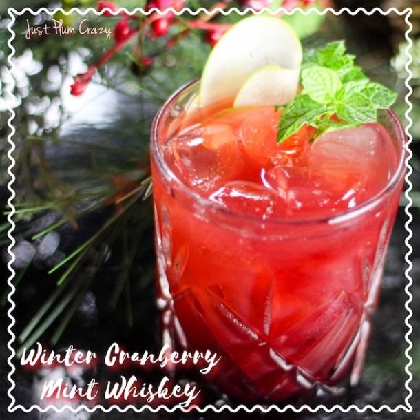 Winter Cranberry Mint Whiskey Recipe