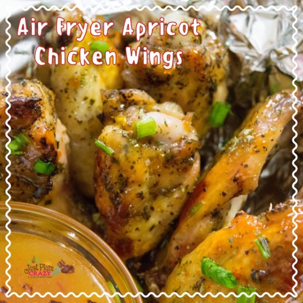 Air Fryer Apricot Chicken Wings Recipe