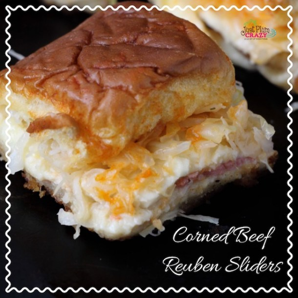 Since I don't have a pastrami sandwich recipe, we are sharing a Corned Beef Reuben Sliders recipe which you can also use for other holidays besides St. Patrick's Day like the big game coming up in a couple of weeks or even a summer picnic.