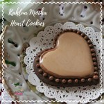 Kahlua Mocha Heart Cookies Recipe