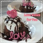 Lava Cakes for Two Recipe