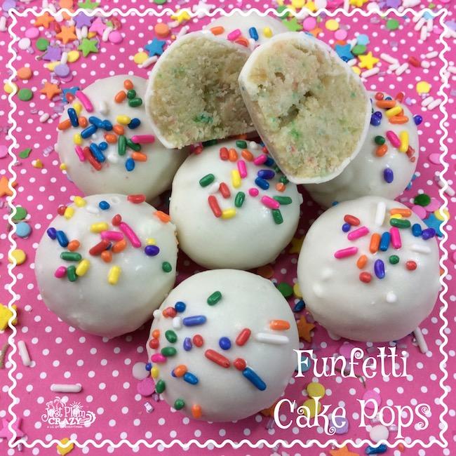 Funfetti Cake Pops Recipe