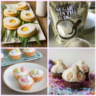 Organic Easter Dessert Recipes with Sugar In The Raw® Visa Gift Card Giveaway #InTheRaw (ends 3/26)