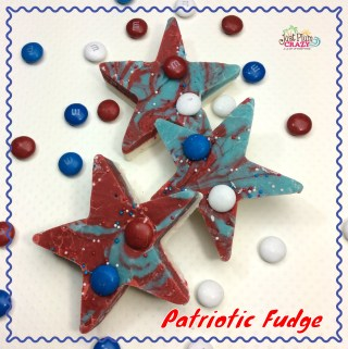 Easy Patriotic Fudge Recipe