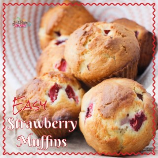 Easy Strawberry Muffins Recipe
