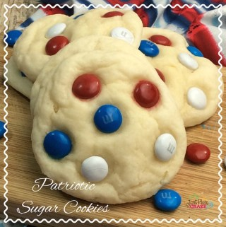 Fluffy Patriotic Sugar Cookies Recipe