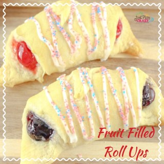 Patriotic Fruit Filled Roll Ups Recipe