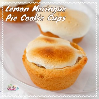 The Cheater Lemon Meringue Cookie Cups Recipe is a simple way to get your Lemon Meringue Pie fix with the tangy lemon filling & sweet meringue like topping.