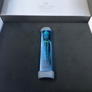 The MistyMate MistPro 3 Personal Misting System is perfect to help keep me cool. It creates a light mist not a drenching mist. Spray a little, spray a lot.