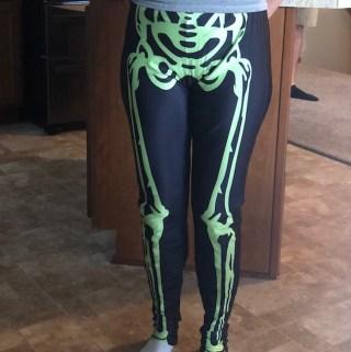 Neon Skeleton Leggings – Mr Bonejangles
