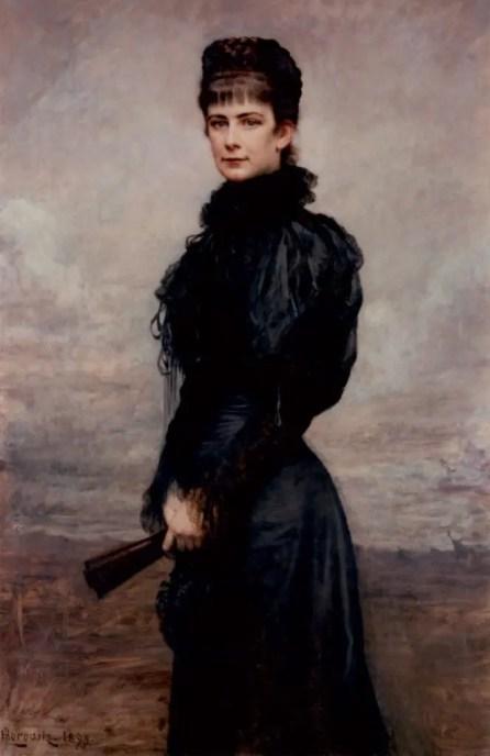 Elisabeth par Leopold Horowitz vers 1899