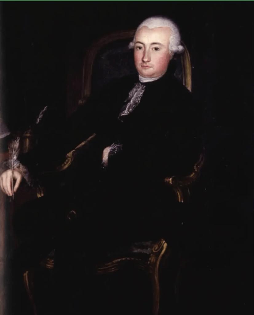 Portrait de François Cabarrus conservé au Musée Basque et de l'histoire de Bayonne