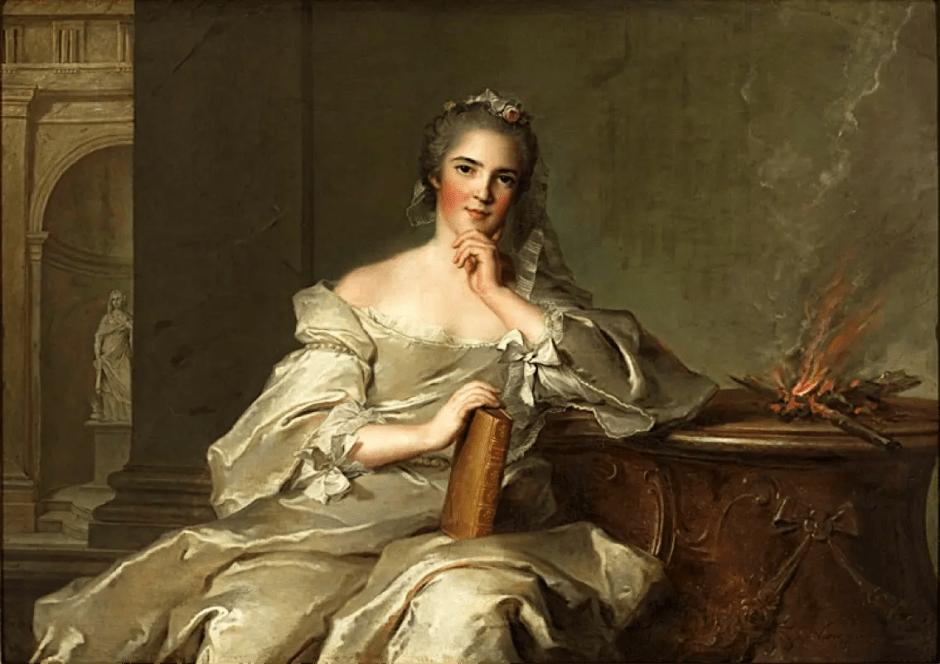 Madame Henriette de France : Le Feu, peint par Nattier