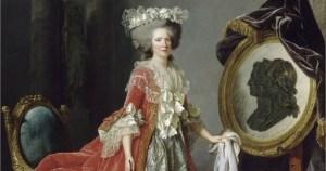 Madame Adélaïde de France par Adélaïde Labille-Guiard