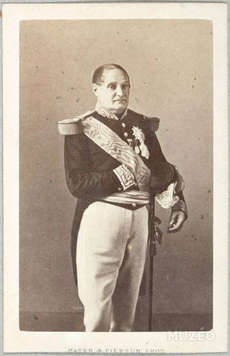 Jérôme Bonaparte, Maréchal de France sous le Second Empire, photographié par Pierson