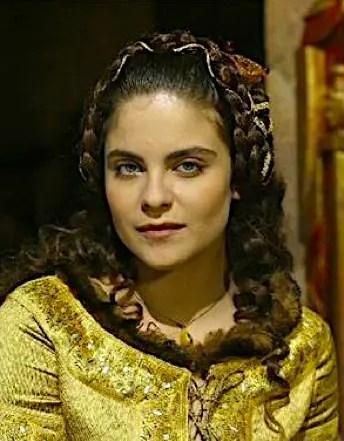 Anne Malraux dans le rôle de Blanche de Bourgogne, série les Rois Maudits, version 2005